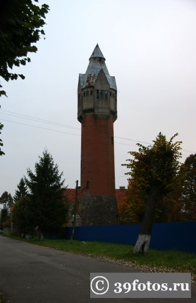 Багратионовск водонапорная башня
